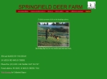 View More Information on Springfield Deer Farm