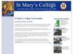 View More Information on St Mary's College Toowoomba