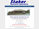 View More Information on Staker Hydraulic Specialists Pty Ltd