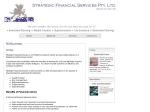 View More Information on Strategic Financial Services Pty Ltd