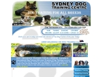 View More Information on Sydney Dog Training Centre
