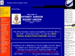 View More Information on Sydney Junior Rugby Union
