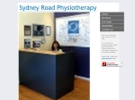 View More Information on Sydney Road Physiotherapy & Sports Injury Centre
