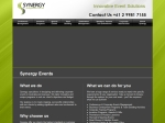 View More Information on Synergy Corporate Event Management Pty Ltd