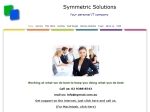 View More Information on Symmetric Solutions