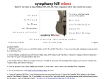 View More Information on Symphony Hill Wines