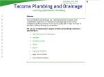 View More Information on Tacoma Plumbing & Drainage Pty Ltd, Maroochydore