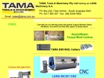 View More Information on Tama Special Tools & Pneumatic Presses Australia