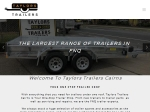 View More Information on Taylors Trailers (Nth Qld) Pty Ltd