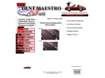 View More Information on The Dent Maestro
