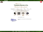 View More Information on Thomas Davis & Co