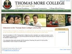 View More Information on Thomas More College