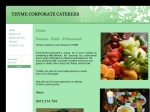 View More Information on Thyme Corporate Caterers
