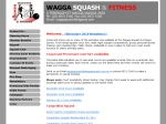 View More Information on Wagga Squash & Fitness