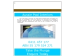View More Information on Todd Jones Pool Services