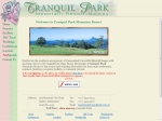 View More Information on Tranquil Park Mountain Resort, Maleny