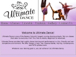 View More Information on Ultimate Dance
