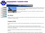 View More Information on Unanderra Tanker Hire