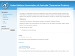 View More Information on United Nations Association Of Australia (Tas) Inc