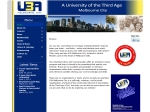 View More Information on University Of The Third Age City Of Melbourne