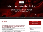 View More Information on Micria Automotive Sales, Kialla