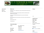 View More Information on Vogler's Hobbies (C J Vogler & Son)