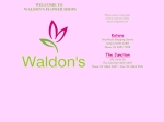 View More Information on Waldon's Flower Shop