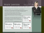 View More Information on Wade Lawyers