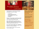 View More Information on Wawn Stephen & Associates