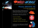 View More Information on Weld Mobile Pty Ltd