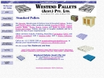 View More Information on Westend Pallets (Aust.) Pty Ltd, Williamstown