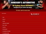 View More Information on Windsor's Automotive, Bathurst
