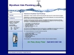 View More Information on Wyndhamvale Plumbing