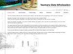 View More Information on Yeomans Slate Wholesalers