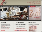View More Information on Zesti Wood Fire Pizza