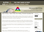View More Information on Alpha Printing Co Pty Ltd