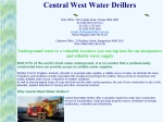 View More Information on Central West Water Drillers