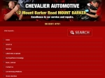 View More Information on Chevalier Automotive, Mt Barker