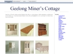 View More Information on Geelong Miner's Cottage