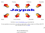 View More Information on JAYPAK Distributors Pty Ltd