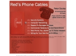 View More Information on Red's Phone Cables
