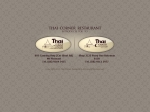 View More Information on Thai Corner Restaurant & Function Room
