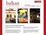 View More Information on Balkan Restaurant
