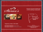 View More Information on Storace's Pizzeria & Restaurant