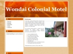 View More Information on Wondai Colonial Motel