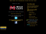 View More Information on Mille Cafe