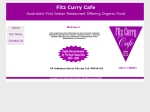 View More Information on Fitz Curry Cafe