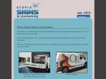 View More Information on Utopia Signs