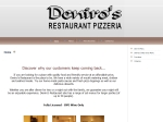 View More Information on Deniro's Restaurant Pizzeria