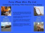 View More Information on Terry Plant Hire Pty Ltd